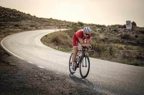 Boris Stein auf seinem Speedmax SLX in Andalusien