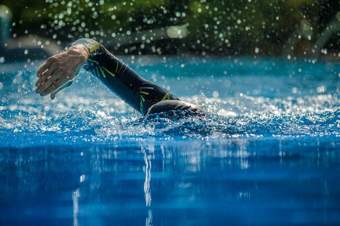 Boris Stein mit dem Sailfish G-Range im Wasser