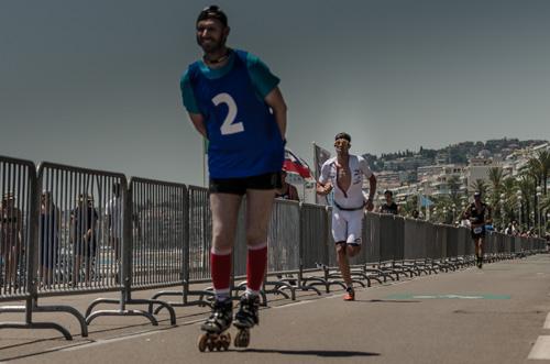 Boris Steins beim Lauf zum IRONMAN-Sieg Nr. 2