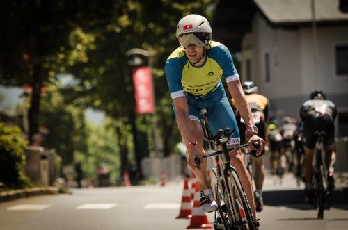 Boris Stein auf der Radstrecke der Challenge Walchsee