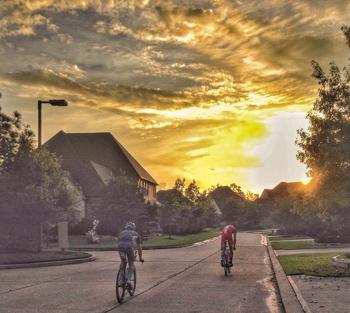 Boris Stein und Patrick Lange starten zusammen in den Sonnenaufgang