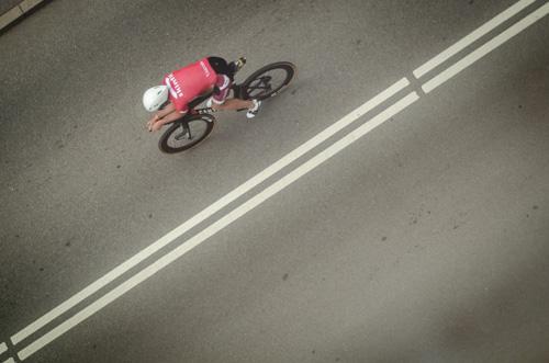 Boris Stein auf seinem Canyon Speedmax CF SLX
