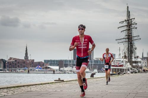 Boris Stein beim Laufen durch die Innenstadt von Kopenhagen