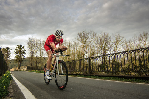 Boris Stein auf seinem Canyon Speedmax