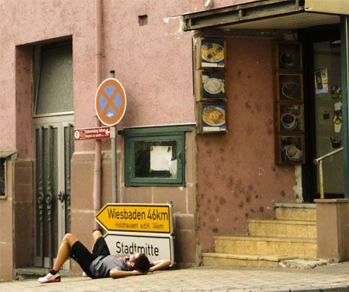 Entspannung vor Wiesbaden