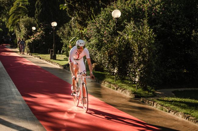 Boris Stein auf seinem Canyon Speedmax CF SRX