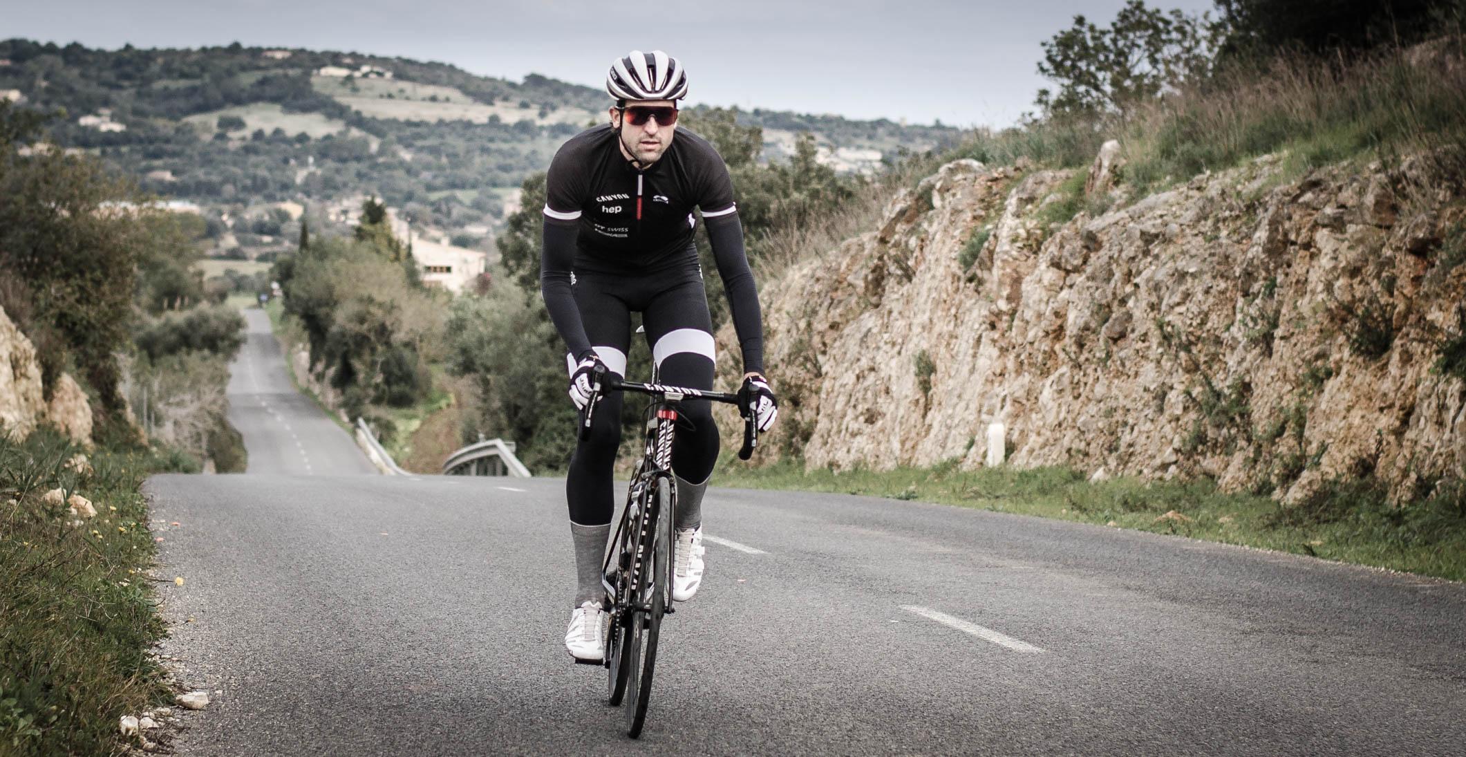 Boris Stein auf seinem Canyon Aeroad im Training